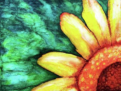 Painting - Sunflower by Jennifer Allison