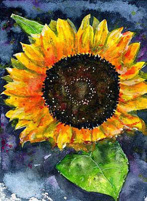 Painting - Sunflower by John D Benson