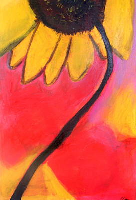 Painting - Sunflower Love by Patricia Byron