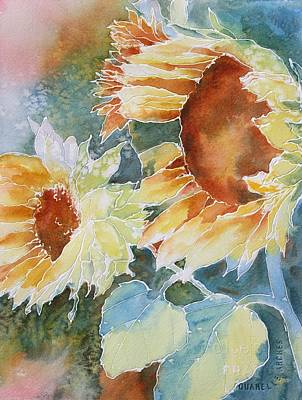 Painting - Sunflower Love by Tara Moorman