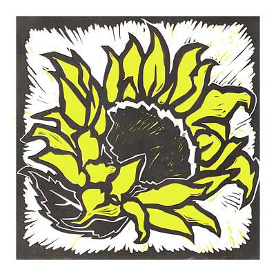 Digital Art - Sunflower by Matt Hood