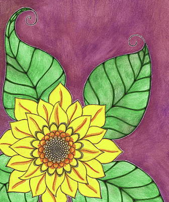 Painting - Sunflower by Michele Bullock