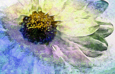 Digital Art - Sunflower Of Hope by Krissy Katsimbras