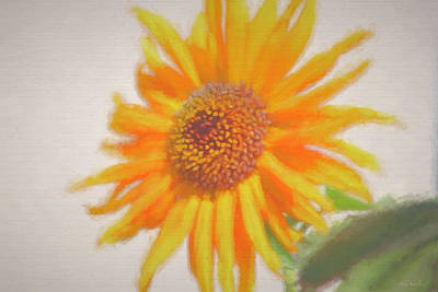Painting - Sunflower Painting by Debra     Vatalaro