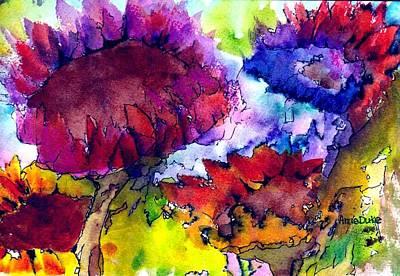 Painting - Sunflower Sensation by Anne Duke