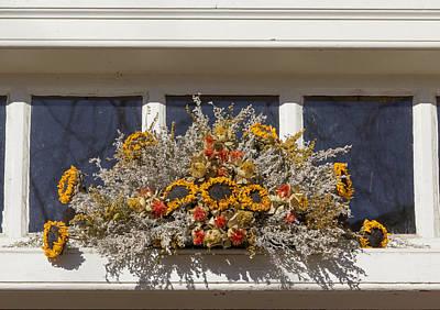 Sunflower Spray Prentis Store Print by Teresa Mucha