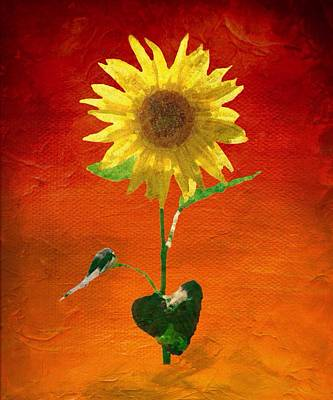 Painting - Sunflower Summer  by Mark Taylor