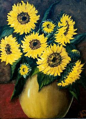 Painting - Sunflower Surprise  Sold by Susan Dehlinger