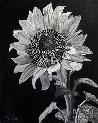 Painting - Sunflower Sutra by Mary Capriole