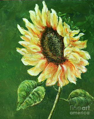 Painting - Sunflower by Tamyra Crossley