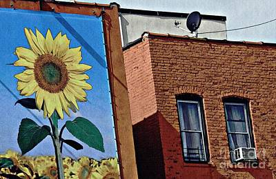 Photograph - Sunflower Town by Sarah Loft