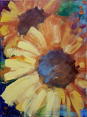 Painting - Sunflowera by Terri Einer
