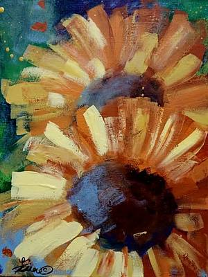 Painting - Sunflowerc by Terri Einer