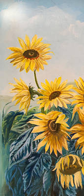 Painting - Sunflowers 1 by Jana Goode