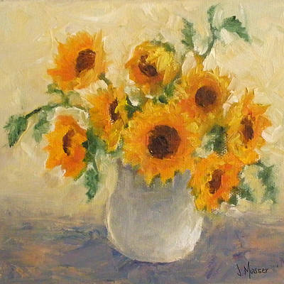 Painting - Sunflowers 2 by Jill Musser