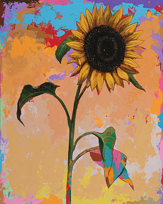 Painting - Sunflowers #3 by David Palmer