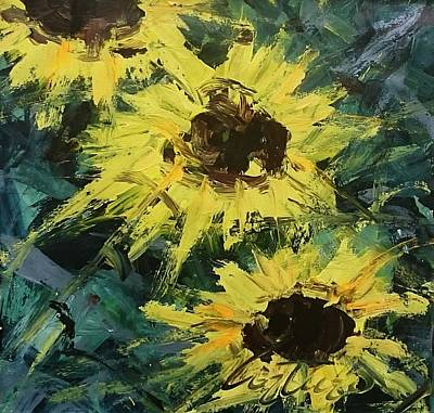Sunflowers 306 Original by Arturo Arboleda