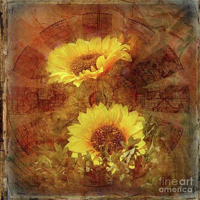 Photograph - Sunflowers by Barbara Dudzinska