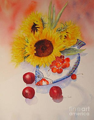 Painting - Sunflowers by Beatrice Cloake