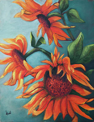 Painting - Sunflowers by Debbie Frame Weibler