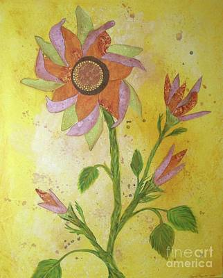 Winter Animals - Sunflowers by Desiree Paquette