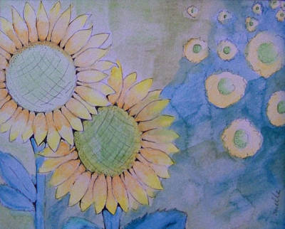 Sunflowers Art Print by Donielle Boal