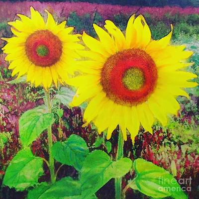 Photograph - Sunflowers by Gina Signore