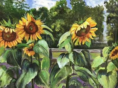 Painting - Sunflowers by Gloria Smith
