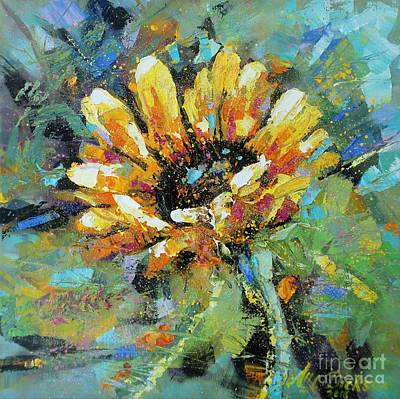 Painting - Sunflowers II by Alla Dickson