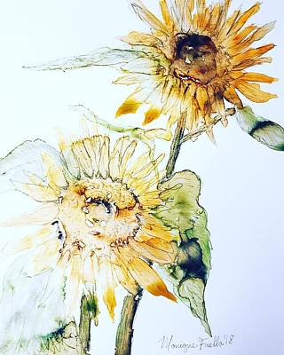 Painting - Sunflowers II by Monique Faella