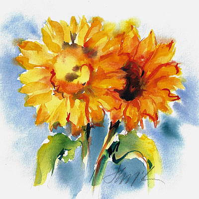 Painting - Sunflowers by Jacki Kellum