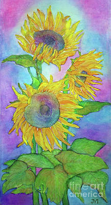 Painting - Sunflowers by Janet Immordino