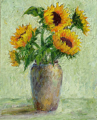 Painting - Sunflowers by Jill Musser