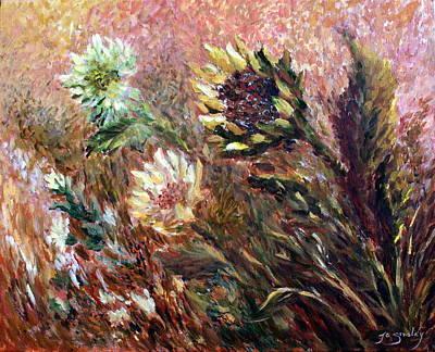Sunflowers Original by Joanne Smoley