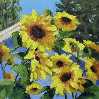Painting - Sunflowers by Karen Ilari