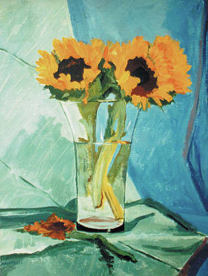 Painting - Sunflowers by Kathryn Donatelli
