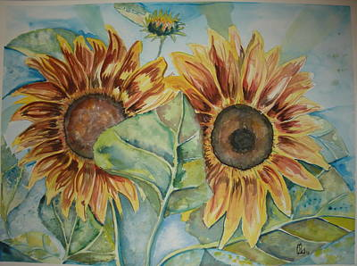 Sunflowers Art Print