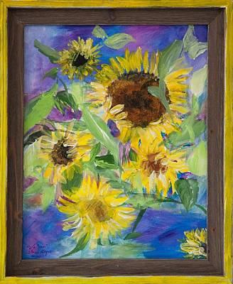 Painting - Sunflowers by Sierra Logan