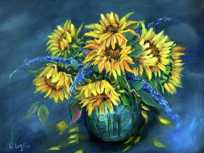 Painting - Sunflowers Still Life by Loretta Luglio