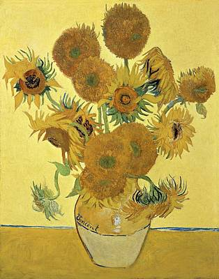 Vincent Van Gogh Painting - Sunflowers by Vincent Van Gogh