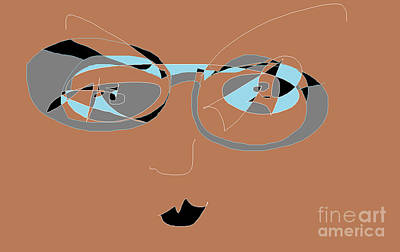 Digital Art - Sunglassed by Nancy Kane Chapman
