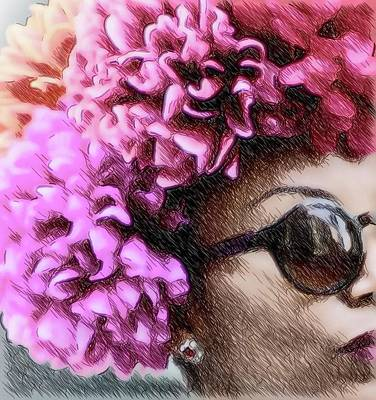 Photograph - Sunglasses And Flowers by Alice Gipson