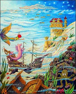 Painting - Sunken Ships by Matt Konar