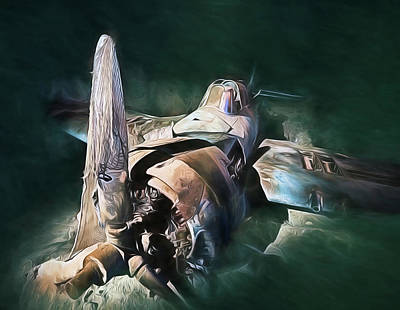 Lake Michigan Digital Art - Sunken Treasure by JC Findley