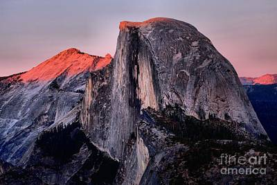 Sunkiss On Half Dome Art Print