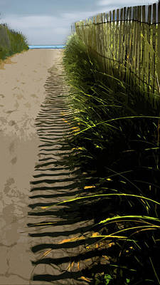 Digital Art - Sunkissed by Gina Harrison