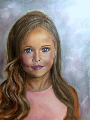 Painting - Sunkissed Innocence by Dr Pat Gehr