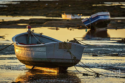 Photograph - Sunkissed Keel La Caleta Cadiz Spain by Pablo Avanzini