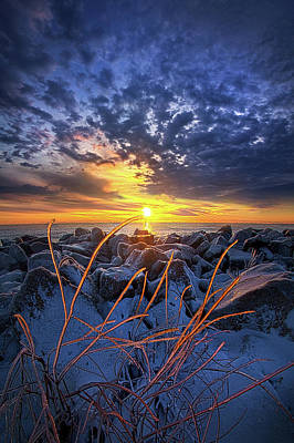 Heaven Photograph - Sunkissed by Phil Koch