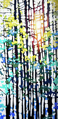 Wall Art - Painting - Sunlight  by Alison Newth